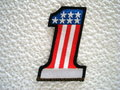 American-number-one-motorcycle-patch